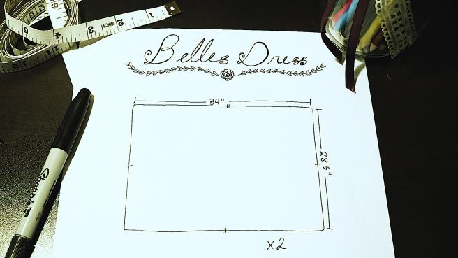 belle's dress 1